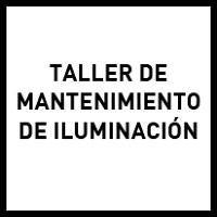 Taller de mantenimiento de iluminación