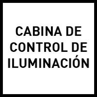 Cabina de control de iluminación