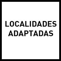 Localidades adaptadas
