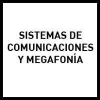 Sistemas de comunicaciones y megafonía